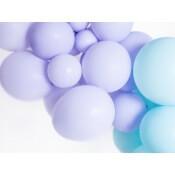Ballons baudruche Biodégradable Lilas Pastel (x5)