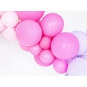 Ballons baudruche Biodégradable Rose Fuschia Pastel (x5)