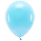 Ballons de baudruche biodégradable Bleu Poudré (x5)