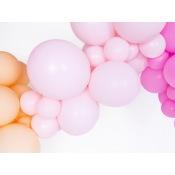 Ballons de baudruche Biodégradable Rose Pastel (x5)