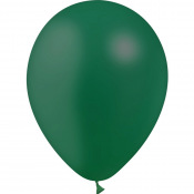 Ballons de baudruche Biodégradable Vert Tropical (x5)