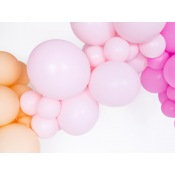 Ballons de baudruche Rose Pastel (x5)