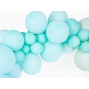 Ballons de baudruche Vert d'Eau Pastel (x5)