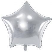 Ballons Etoile Argent (x2)