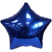 Ballons Etoile Bleu Marine (x2)