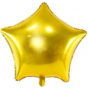 Ballons Etoile Or  (x2)