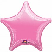 Ballons Etoile Rose (x2)