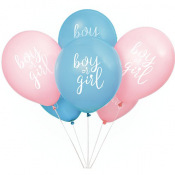 Ballons Gender Reveal Boy or Girl ? (x8)