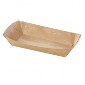Barquettes alimentaires Kraft (x8)
