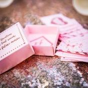 Boîte de Jeu de 35 cartes questions EVJF Rose Gold