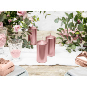 Bougie Cylindrique Rose Gold