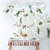 Bouquet pour Arche de 60 Ballons Blanc