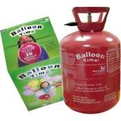 Bouteille d'hélium Jetable pour 30 ballons latex