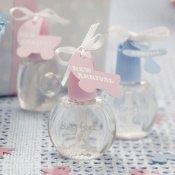 Bulles de savon Baby Shower Rose & Bleu (x6)