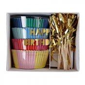 Caissettes à Cupcake multicolore (x48)