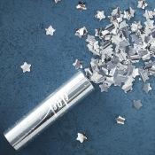 Canon à confettis Etoile Argenté