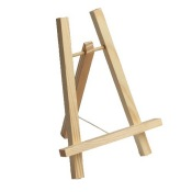 Chevalet en bois - Porte Menu