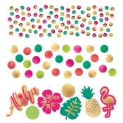 Confettis de Table Aloha Métallisé
