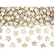 Confettis de table Etoile en Bois (x50)