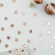 Confettis de table Etoile Rose Gold