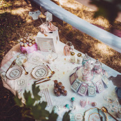 Confettis de table Rose & Or Petit Merveille (x100)