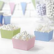 Contenants à bonbon mix pastel (x6)