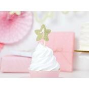 Déco à cupcake 1st Birthday Or pailleté