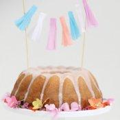 Déco Gâteaux Mini Guirlande Pastel