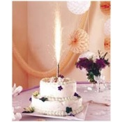 Fontaine de glace lumineuse pour gâteau