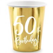 Gobelets Anniversaire 50 ans (x6)