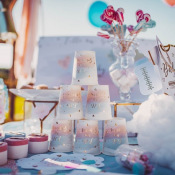 Gobelets Gender Reveal Party - Fille ou Garçon (x4)