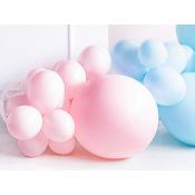 Grand Ballon en latex Rose Pastel 60cm