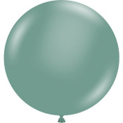 Grand Ballon en latex Vert Eucalyptus