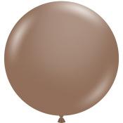 Grand Ballon latex Chocolat 43 cm