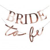 Guirlande Bride to Be Rose Gold