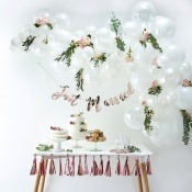 Kit Arche de 60 Ballons Blanc
