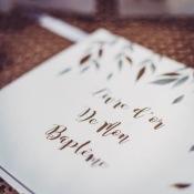 Livre d'Or de Mon Baptême Papier Végétal