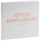 Livre d'Or Joyeux Anniversaire Rose Gold