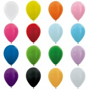 Mini Ballons de baudruche Biodégradable 12.5 cm (x10)