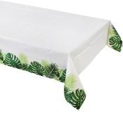 Nappe en papier Feuillage Vert Tropical