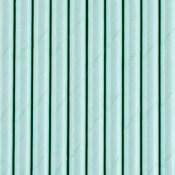 Pailles Biodégradable Papier Bleu Pastel (x20)