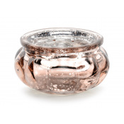 Photophore Rond Rose Gold
