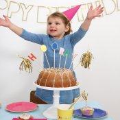 Pics à gâteau Multicolore HOORAY !