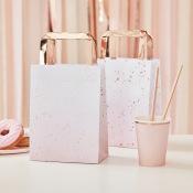 Pochettes Cadeaux à Hanse Rose Gold (x5)