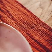Ruban ou Chemin de table Terracotta