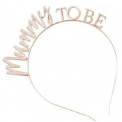 Serre tête Mummy to Be Rose Gold