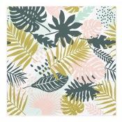 Serviettes en papier Feuillage Aloha (x20)
