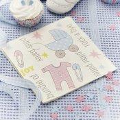 Serviettes en papier Fille ou Garçon (x20)