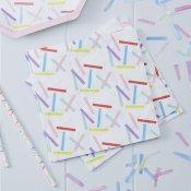 Serviettes en papier Multicolore (x20)
