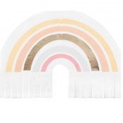 Serviettes en papier Natural Rainbow (x16)